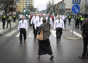 Situationen från en annan vinkel, fotograferad av DT:s Mikael Hellsten.