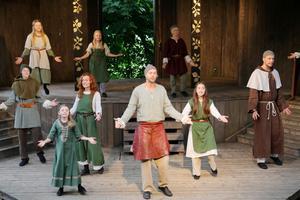Smakprov från teaterföreställningen Robin Hood.