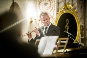Flöjtisten Peter Degerfeldt.
