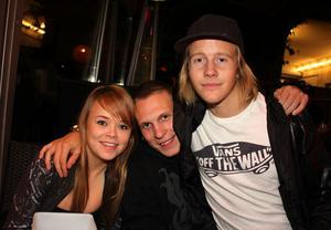 Tabazco. Hannah, Freddie och Fredrik
