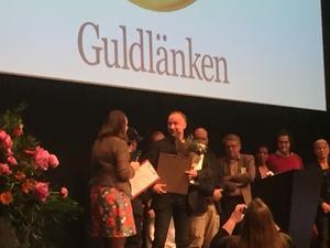 Mikael Wiklund vann pris för att ha trotsat lagen.