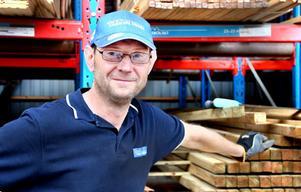 – Jag tror inte att folk kommer strömma hit, nu så sent på sommaren om det blir bra väder, säger Anders Fransson.