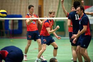 Gvido Vaguls och Joel Sundström är två Säterspelare som ser fram emot spel i allsvenskan som inleds med hemmamatcher mot Lund och Helsingborg.