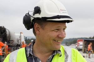 Jörgen Stenersen, byggledare på Trafikverket.