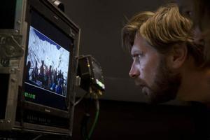 Rubens Östlund hoppas att både han och Roy Anderssons ska få visa sina filmer i Cannes i år.Foto: Björn Larsson Rosvall/TT