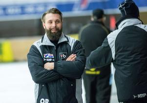 Oskar Robertsson, tränare TB Västerås.
