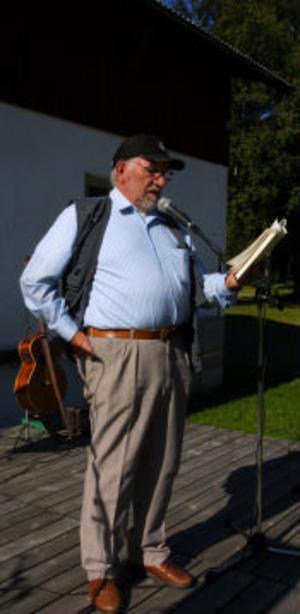 Lennart Sundström berättad anekdoter om Janne Wängmans öden och äventyr.