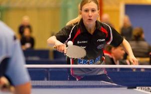 Sofia Westholm var Junos bästa spelare vid helgens sammandrag i Storfors. Foto: Bjorn Soderquist