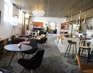 260 kvadratmeter ger utrymme för olika stilar.