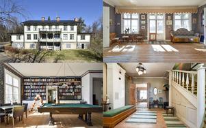 Anrik herrgård i Norn - en bevarad gammal bruksbygd med historia från 1700-talet.