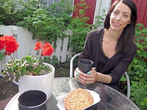 Alexandra Elemyr - Unstad förespråkar ett mer balanserat förhållningssätt till mat.    – Vi kan äta allt men inte varje dag. Många skulle tjäna på att dra ner på produkter som vetemjöl och socker.