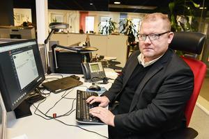 Chefredaktör Anders Ingvarsson.
