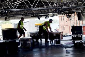 En scen från Getaway Rock. Ja, vilka tio lokala band ska få chansen att få använda sin utrustning på sommarens festival?