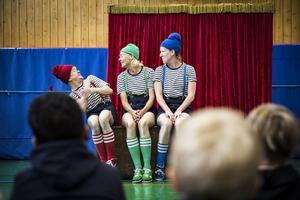 Förskoleteater i Kälarne med eatergruppen Trunken.
