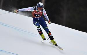 Lisa Hörnblad ligger sexa efter första åket.