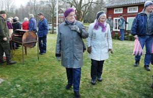 Trots bristen på snö var det julstämning i Hårga.