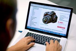 E-handeln i Sverige har ökat med 15 procent under det tredje kvartalet. Nu spås julhandeln nå rekordhöjder på nätet.Foto: Claudio Bresciani