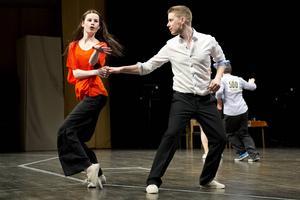 2013-03-11   Altirasnurren på Tonhallen 2013. Bugg, dansare, Par 583 Magnus Ullström och Isabelle Jonsson Altira