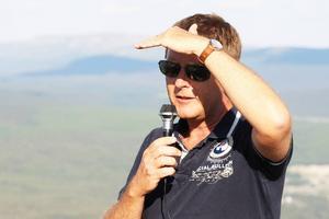 Mikael Olsson, ordförande i Funäsdalen Berg och Hotell drömmer om världscuptävlingar i slalom och tror att gondolbanan kan bli ett led att se dem bli verklighet.