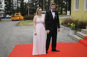 Hanna Olsson och Helmer Söderberg.