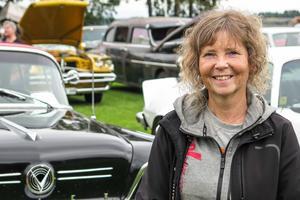 Mässgeneralen Susanne Söderman från Hammerdal var nöjd med de uppåt 2 000 inlösta under dagen på lördagen, och de mellan 1 500 och 2 000 personer längs E 45 som tittade på Joeltåget.