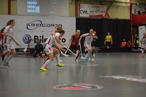 Anna Wijk krigade i vanlig ordning och lyckades göra tre assist.