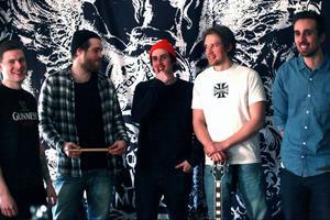Moron Express: Simon Isaksson, Alexander Lund, Alexander Mangs, Philip Westerberg och Johan Persson.