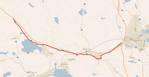 Stråker kommer att gå mellan Florhed och Söderhamn.