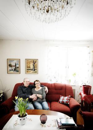 1958 flyttade Harry och Signe Persson från ett rum och kök till sitt nybyggda hus om 133 kvadratmeter. Det var som att flytta in i ett slott, säger Signe.