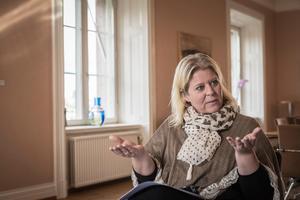Camilla Waltersson Grönvall (M).