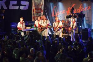 Larz-Kristerz från Älvdalen spelade på dansbandsgalan förra året.