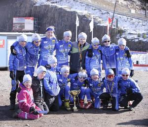 Hela HIF-gänget hade en lyckad helg under världscupsavslutningen i Falun.