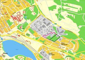 Här ligger området Surbrunnshagen, där Kopparstaden nu planerar att bygga upp emot 600 nya lägenheter.