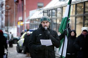 Nästeschefen Pär Sjögren från Borlänge höll ett tal på temat