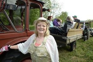 Siv Nordell från Indal är en van traktorcuisare.