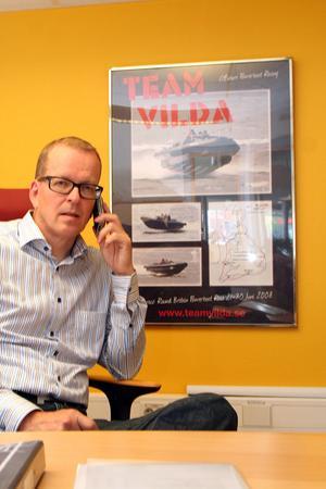 """""""Problemet är en alltmer olönsam bilförsäljning"""", säger Mikko Oikari på Toyota Gävle."""