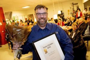 Lasse Wennman vann Arbetarbladets utmärkelse