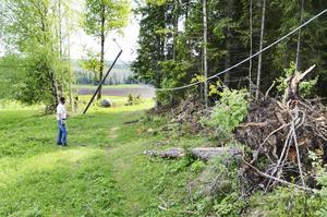 Myssjö/Oviken IF:s elljusspår var ett av flera som tog mycket stryk när stormen Ivar drog fram genom länet i december 2013. Nu har kommunen beslutat att de skadade motionsspåren ska repareras.