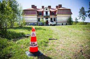 Återigen en filminspelning i Kilafors, den här gången i gamla ålderdomshemmet i Norrfly.