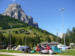 Dolomiterna i Italien juli 2008.