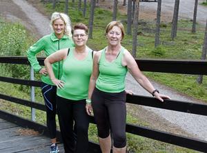 Cecilia Weinacht, Disa Eriksson och Ann-Kristin Bladh är tre av Korpens instruktörer.