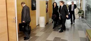Västmanlands tingsrätt vid torsdagens förhandlingar.