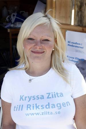 Ziita Eriksson   Moderaterna