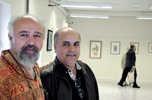 Vänner ställer ut. Bahman Sehatlou och Naser Dashti har känt varandra sedan ungdomsåren på konstakademin i Teheran. Numera bor de i Turkiet och Sverige, och ställer ut tillsammans i Kopparberg.