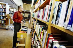 Thomas Drugg jobbar numera på Östersunds bibliotek.