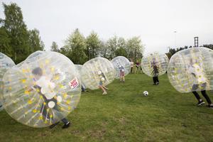 Bumperball var en populär aktivitet.