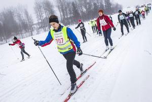Annika Davidsson, Team Lampspecialisten, körde 15 kilometer.