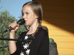 Ellen Lindblad debuterade med When we were young
