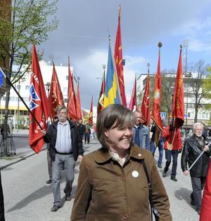 Helgdagsbytare. Socialdemokraternas partisekreterare Carin Jämtin vill byta en av dagens helgdagar mot en muslimsk.foto: scanpix