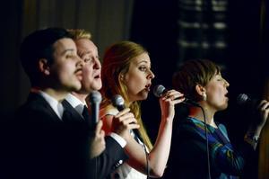 Kvartetten Stockholm Voices framträdande på jazzklubben är en av säsongens riktiga höjdare enligt ST:s recensent.